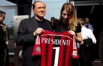 Silvio Berlusconi parla del Milan
