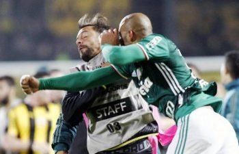 Felipe Melo anima la rissa
