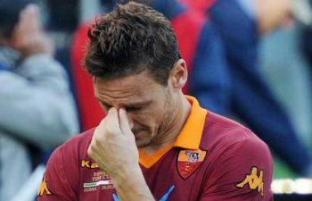 Francesco Totti ai saluti