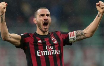 Bonucci rischia di saltare anche il ritorno con la Juventus