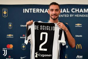 Juventus: si ferma anche De Sciglio