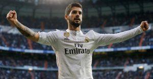 Isco Segna il gol Del Real Madrid