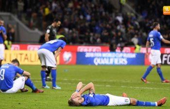 Italia ripescata