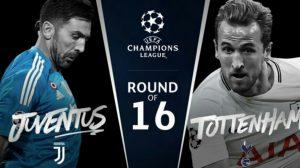 Juventus-Tottenham:TV e streaming