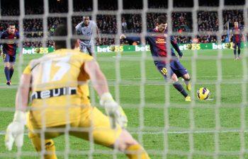Messi e i rigori.