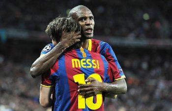 Messi e Abidal