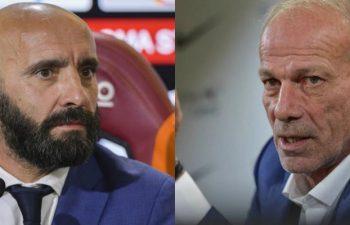 Roma e Inter eco i nuovi allenatori
