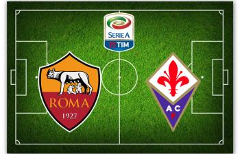 Serie A: Roma-Fiorentina (sabato)