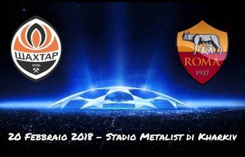 Formazioni e diretta TV di Shakhtar Donetsk-Roma